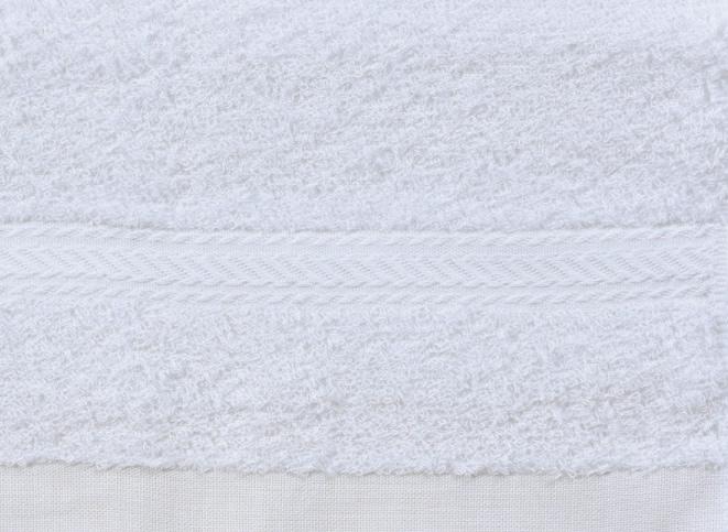 白いふわふわタオル2