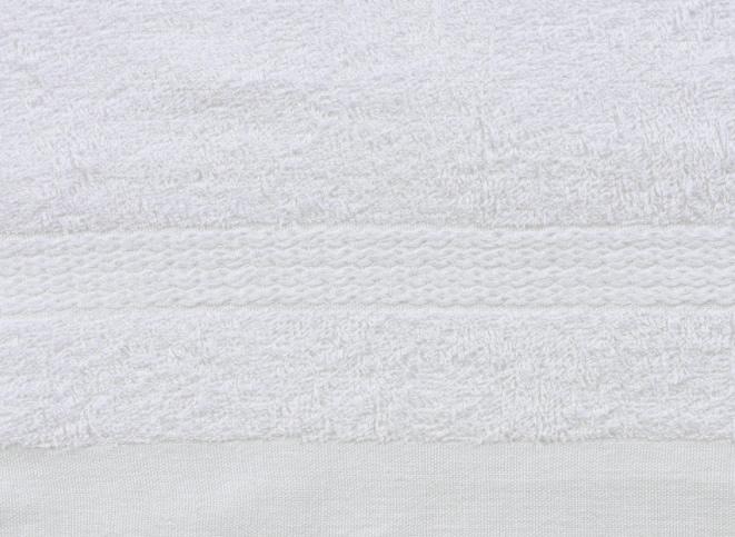 白いふわふわタオルの詳細ショット1
