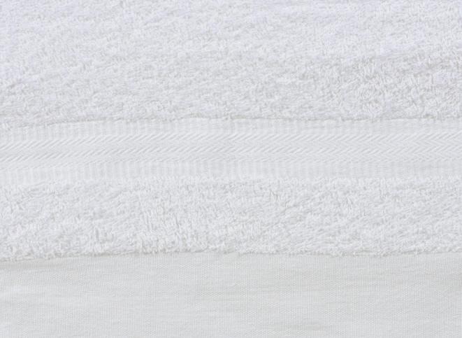 白いふわふわタオルの詳細ショット2