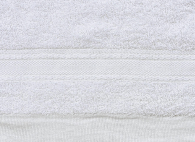 白いふわふわタオルの詳細ショット3